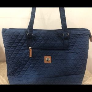 Stone Mountain cloth tote and wallet